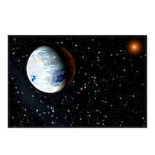 Eta Cassiopeiae planet - Postcards (Pk of 8)