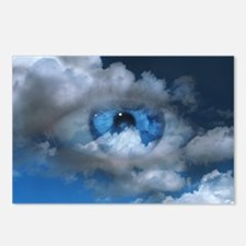 Eye and clouds - Postcards (Pk of 8)