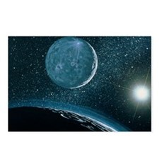 Illustration of Pluto - Postcards (Pk of 8)
