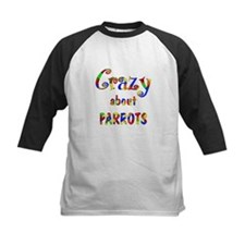 Crazy About Parrots Tee