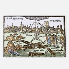 Plague in London, 1625 - Postcards (Pk of 8)