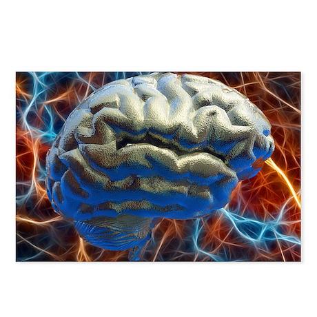 Neural network, computer artwork - Postcards (Pk o