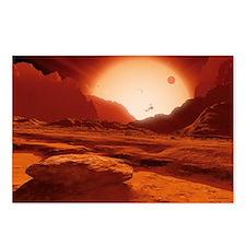 Proxima Centauri planet, artwork - Postcards (Pk o