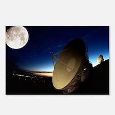 Radio telescopes - Postcards (Pk of 8)