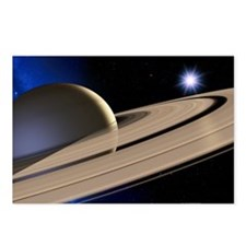 Saturn's rings - Postcards (Pk of 8)