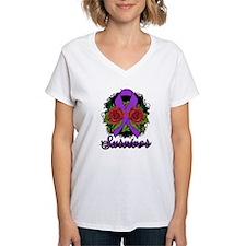 Lupus Survivor Rose Tattoo Shirt