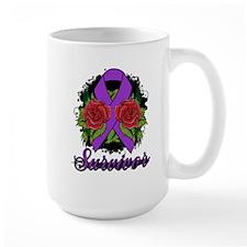 Lupus Survivor Rose Tattoo Mug