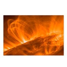 Solar coronal loops - Postcards (Pk of 8)