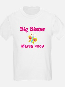 Big Sister March 2009 Kids Tee