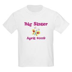 Big Sister April 2009 Kids tee
