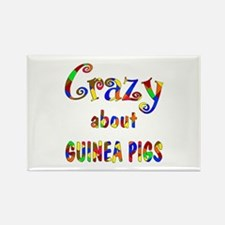 Crazy About Guinea Pigs Rectangle Magnet