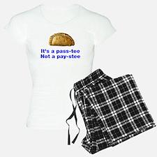 Pasty is a pass-tee Pajamas