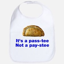 Pasty is a pass-tee Bib