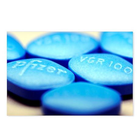 Viagra pills - Postcards (Pk of 8)