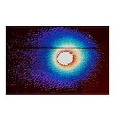 Vega image of Halley's comet - Postcards (Pk of 8)
