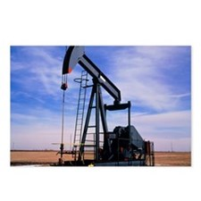 A jack pump used for oil extraction - Postcards (P