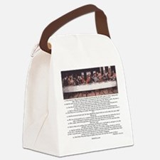 Matthew-26:17-30 The Last Supper Canvas Lunch Bag