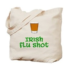 Irish Flu Shot Tote Bag