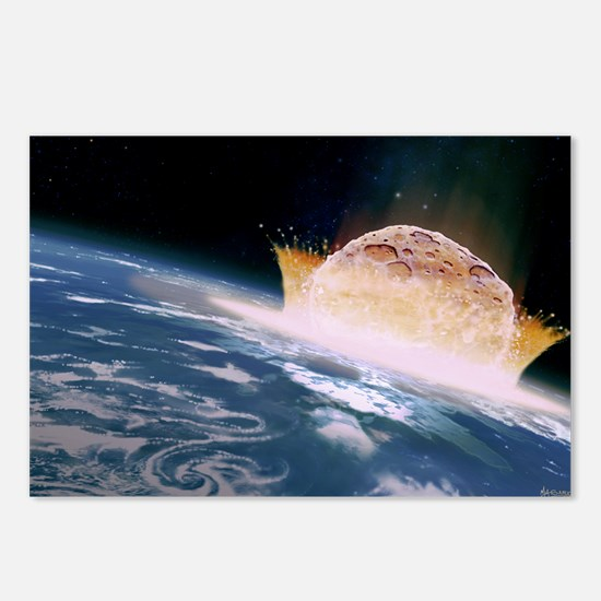 Asteroid impact - Postcards (Pk of 8)