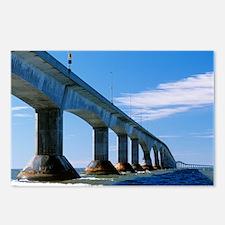 Confederation Bridge, Canada - Postcards (Pk of 8)