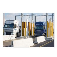 Container port security - Postcards (Pk of 8)