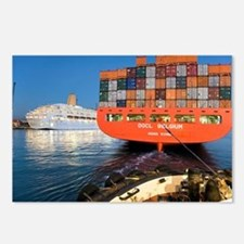 Container ship - Postcards (Pk of 8)