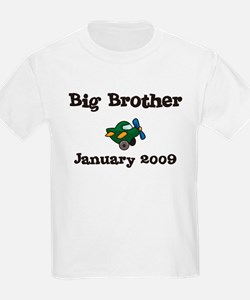 Big Brother January 2009 Due Date Kids Tee