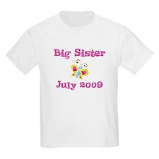 Big Sister July 2009 Kids Tee