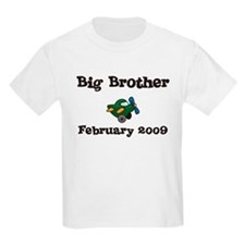 Big Brother February 2009 Due Date Kids Tee