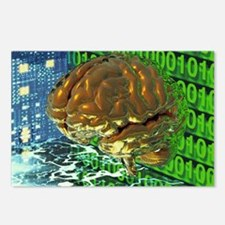 Digital brain - Postcards (Pk of 8)