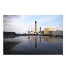 Drax coal-fired power station, UK - Postcards (Pk