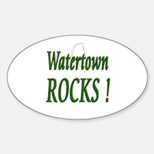 Watertown Rocks ! Oval Decal