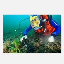 Finding evidence underwater - Postcards (Pk of 8)