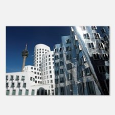 Gehry's Der Neue Zollhof buildings - Postcards (Pk