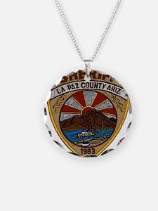 La Paz County Sheriff patch Necklace