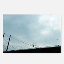Oberkasseler bridge, Dusseldorf, Germany - Postcar