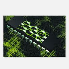 Neural chip - Postcards (Pk of 8)