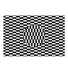 Ouchi illusion - Postcards (Pk of 8)