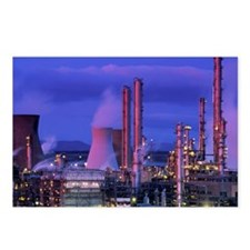 Petrochemical plant - Postcards (Pk of 8)