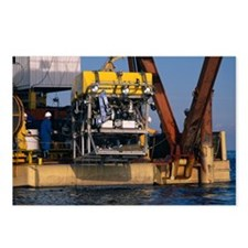 Research submersible - Postcards (Pk of 8)