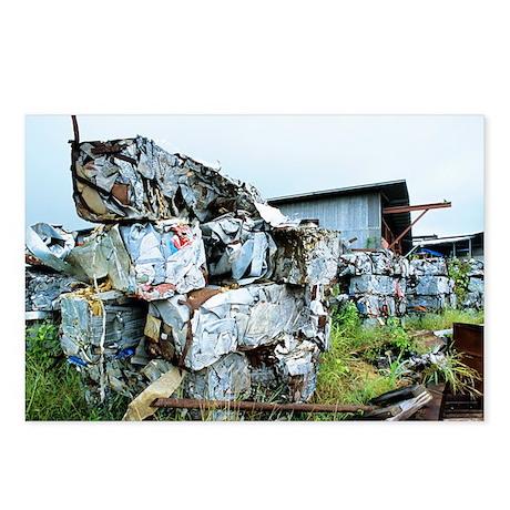 Scrap metal bales - Postcards (Pk of 8)