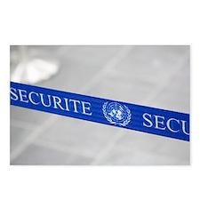 Security belt barrier - Postcards (Pk of 8)