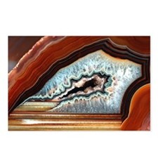 Slice of agate - Postcards (Pk of 8)
