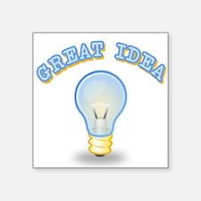 """Great Idea Square Sticker 3"""" x 3"""""""