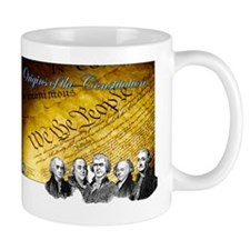 Declaration of Independence Founding Fathers Mug