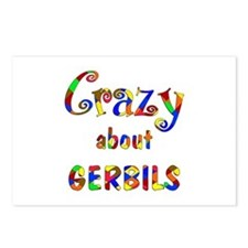 Crazy About Gerbils Postcards (Package of 8)