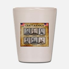 Chattanooga - Union Shot Glass