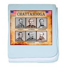 Chattanooga - Union baby blanket