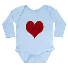 Caitlyn Long Sleeve Infant Bodysuit