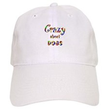 Crazy About Dogs Baseball Cap
